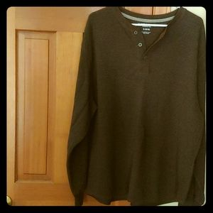 Men's Long Sleeve Shirt Faded Glory XL